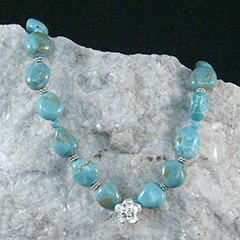 campo frio turquoise necklace